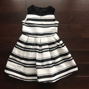 Other - Worn once! Black and white girls formal dress.